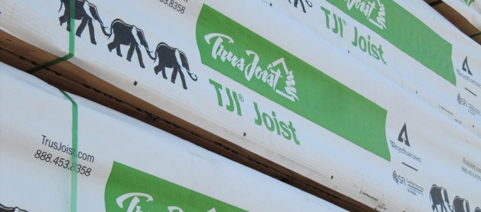 Trus Joist® TJI® Joists Rated #1 by Builders for Thirteen Years in a Row