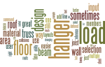 Wordle with Javelin Wants: hanger, loads, floor, design, truss, area, input