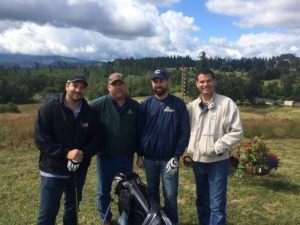 Sheep Pasture Golf 2016 Del Chris Justin Dan